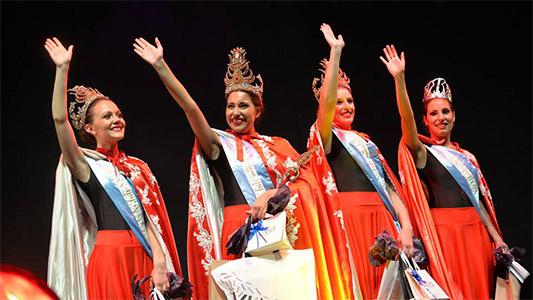 Las soberanas del Festival de Peñas elaboran proyectos comunitarios