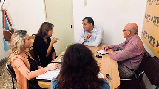 Capitani inició ronda de reuniones con ediles de la oposición