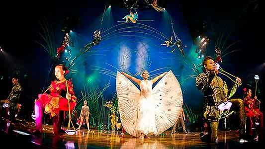 Amaluna: una historia de amor con la magia del Cirque Du Soleil