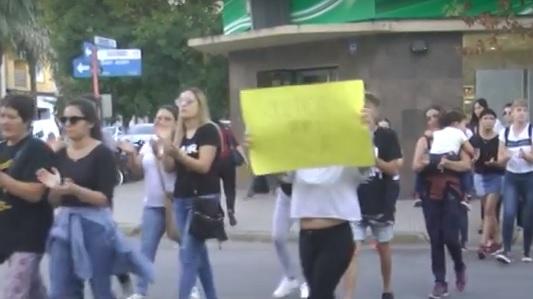 Familiares y amigos de Milla marcharon pidiendo Justicia