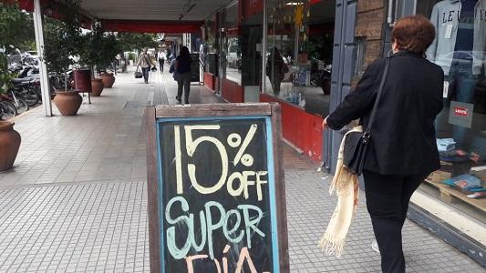 Afirman que cayeron las ventas minoristas en locales comerciales