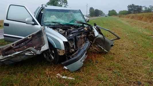 Choque fatal: Son 3 las personas fallecidas por el siniestro de ruta 158