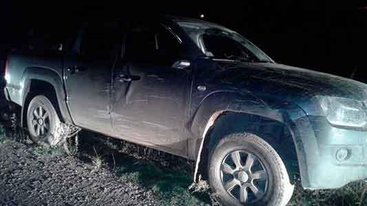 Encontraron abandonada en un barrio la camioneta robada al abogado