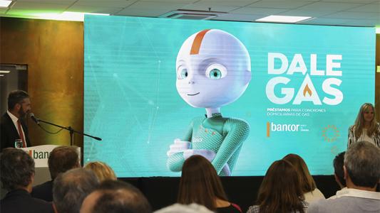 Bancor presentará nueva linea del préstamo Dale Gas