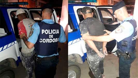 Detuvieron a tres hombres de Córdoba que escaparon de un control