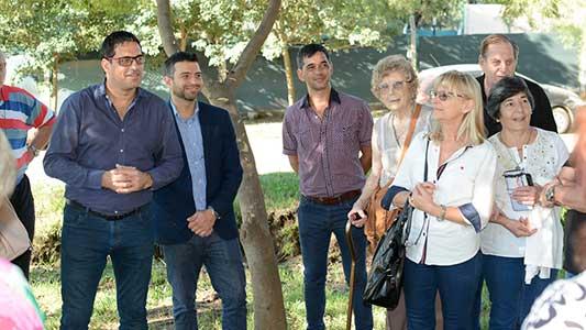 Tour de jueces jubilados pasó por las postas históricas de Villa Nueva