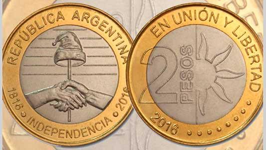 Casi no hay monedas de 2 pesos en los bancos para reemplazar al billete