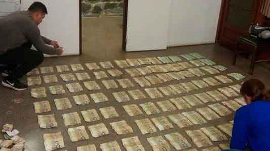 Eran robados los 62 mil pesos que llevaba en una mochila
