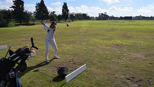 Promesas del golf nacional juegan este finde en la ciudad