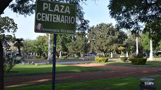 Plaza Centenario: Aprobaron los arreglos por 15 millones de pesos
