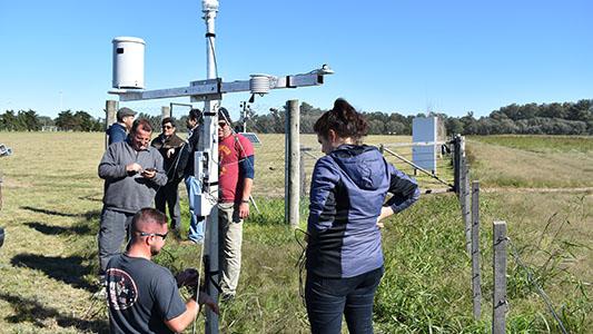 La UNVM tiene nueva central meteorológica para medir las lluvias