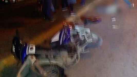 Recuperó el conocimiento y fue identificado el motociclista accidentado