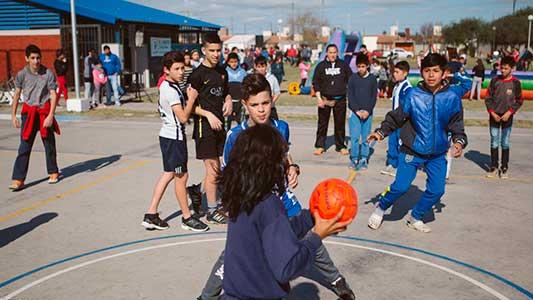 deporte en los barrios - tu playón tu deporte