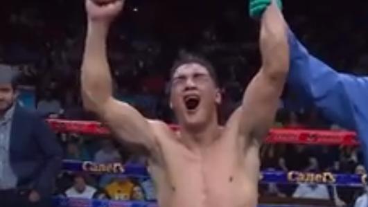 Boxeador local le ganó al hijo de Julio Cesar Chávez