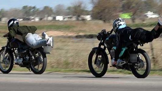 Picadas de motos: en los operativos de tránsito sólo pueden persuadir, no detener