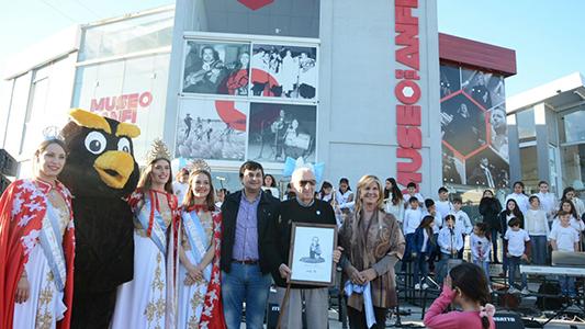 El arquitecto del Anfi fue reconocido en el Día de los Museos