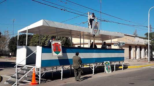 A qué hora comienza el desfile por el 25 de Mayo en Villa Nueva