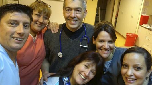 La emoción del equipo del Pasteur: reanimaron bebé que entró sin signos vitales
