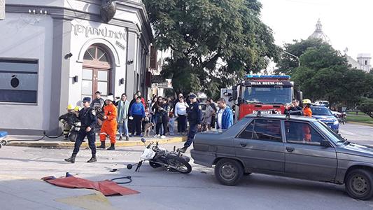 Simulacro de accidentes generó debate entre los vecinos