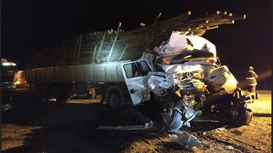 Otro accidente en ruta 158: colisionaron dos camiones que circulaban hacia Villa María