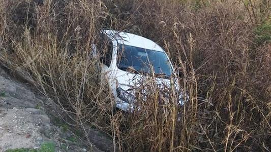 ¿Qué fue lo que pasó con el auto caído en la zanja?