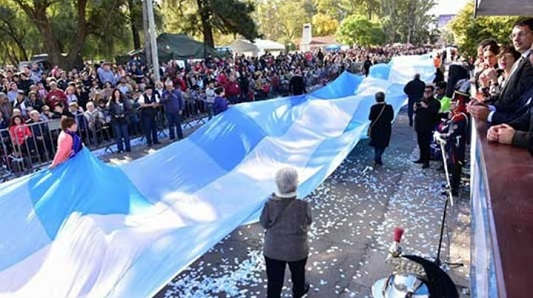 Promesa a la Bandera: Hora y lugar de los actos en Villa María y Villa Nueva