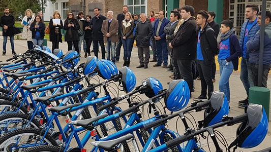 ¿Cómo son las bicis de la UNVM? La institución ya tiene los 30 rodados