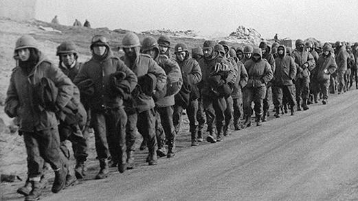 Encuentro con ex combatientes a 36 años del fin de la guerra de Malvinas