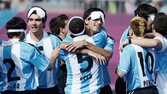 """""""Los Murciélagos"""" subcampeones del Mundial de Fútbol para ciegos"""