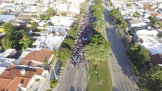marcha contra legalizacion del aborto en villa maria