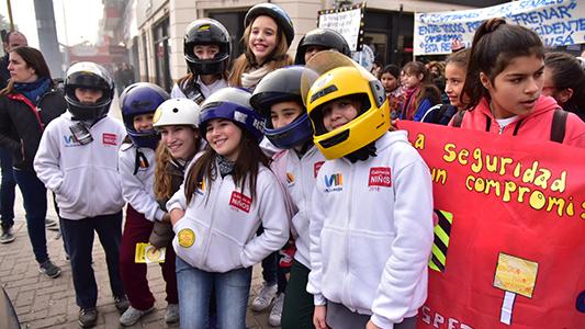 Seguridad Vial: Lo que piden los chicos de la primaria en las calles