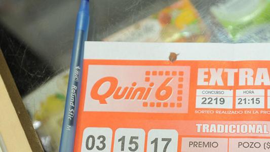 $ 80.000 a la basura: Ganó el Quini 6 pero tiró el boleto y no lo podrá cobrar