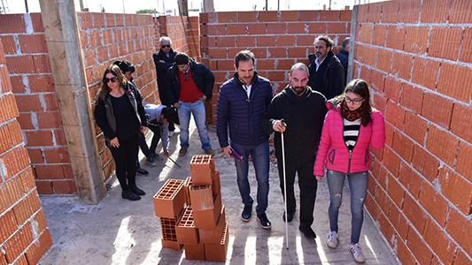 Convocaran a suplentes para cubrir vacantes en las 47 viviendas de barrio Evita