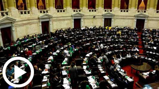 En Vivo: Mirá la definición del debate en Diputados por el aborto