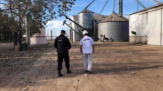 Oncativo: Afip decomisó 580 toneladas de soja no declarada en una cerealera