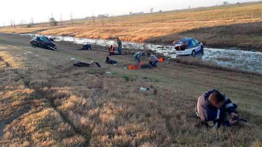 Falleció un policía de la Caminera atropellado en un control en la Autopista
