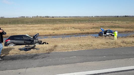 Identificaron al policía de la Caminera que falleció en un accidente en Autopista