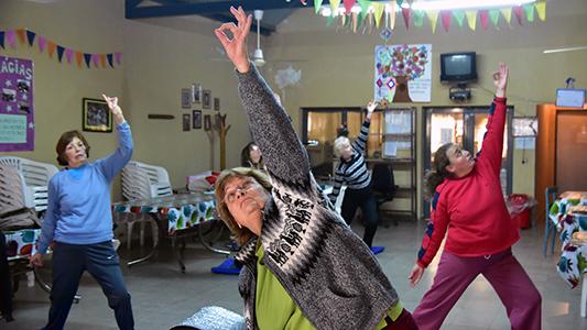 Remodelarán los centros de día para adultos mayores de los barrios Las Playas y Rivadavia