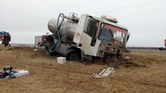 Es de Villa María el camionero que chocó contra auto en Canals: 5 muertos