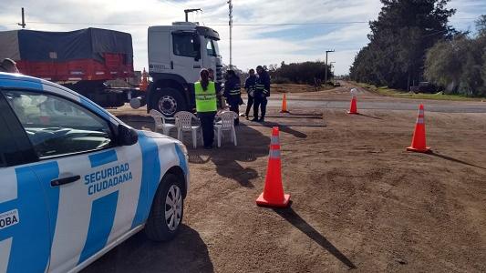 Villa Nueva: Controlan transportes de carga y vehículos particulares