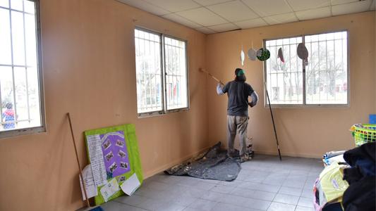 Realizaron trabajos de mantenimiento y reparación en 11 escuelas