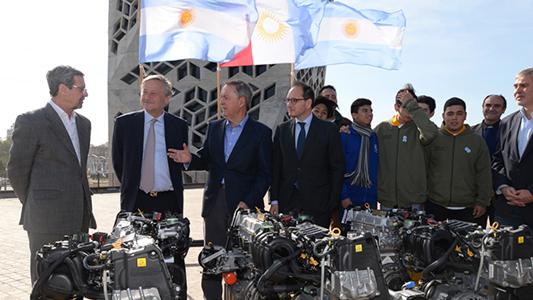 La ex Escuela del Trabajo realizará prácticas con motores Fiat