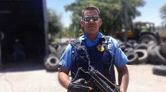 Ballesteros en vilo por la salud de sus 2 policías atropellados en la Autopista