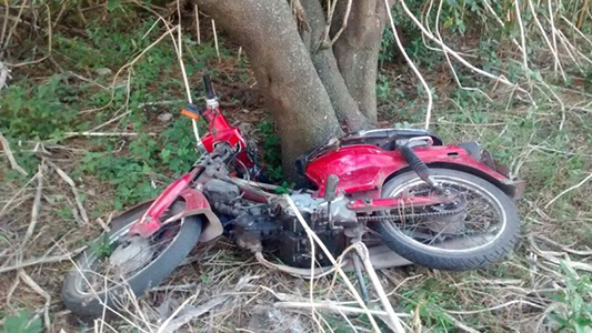 Recuperan motocicleta que tenía pedido de secuestro