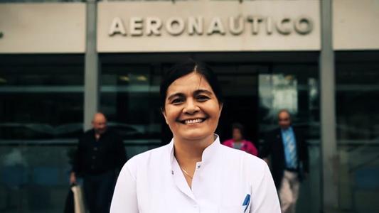 Médica de Pozo del Molle, primera mujer en dirigir un hospital de la ONU