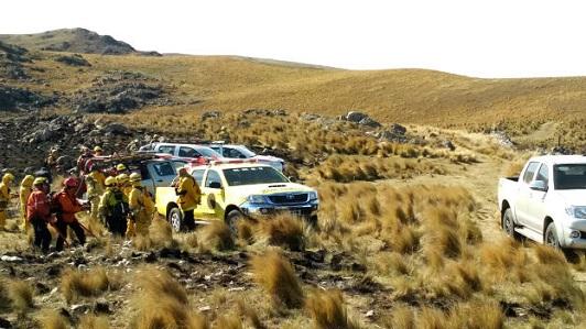 Alto el riesgo de incendio en toda la provincia de Córdoba