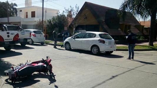 Tres accidentes con motociclistas lesionados: dos son menores