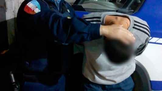 Un año con pedido de captura y lo agarraron a dos cuadras de la Policía