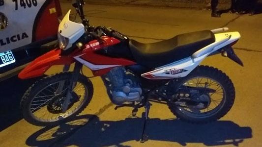 Recuperaron dos motos que tenían pedido de secuestro