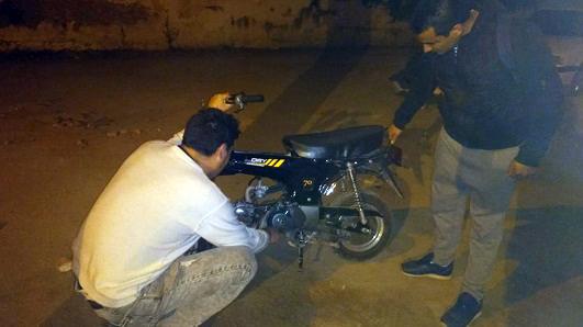Encuentran junto al río dos motos robadas en los últimos días
